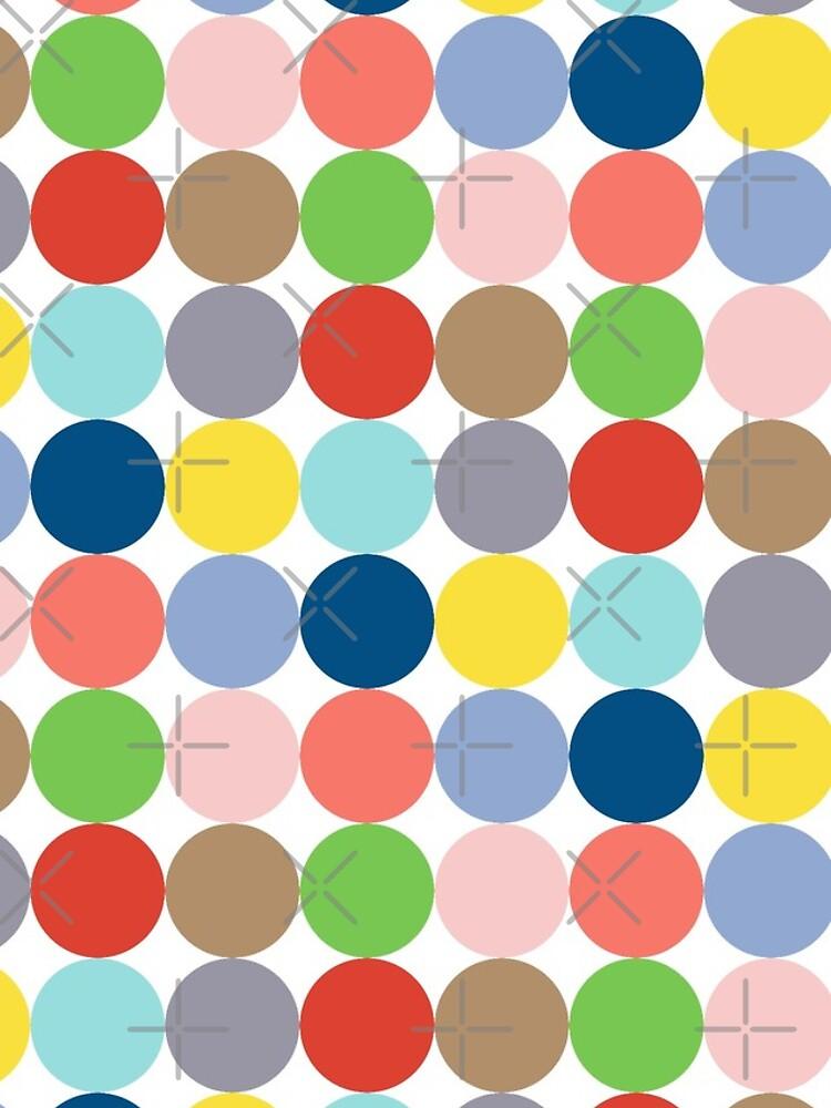 Bunte Kreise in Pastellfarben von pASob-dESIGN