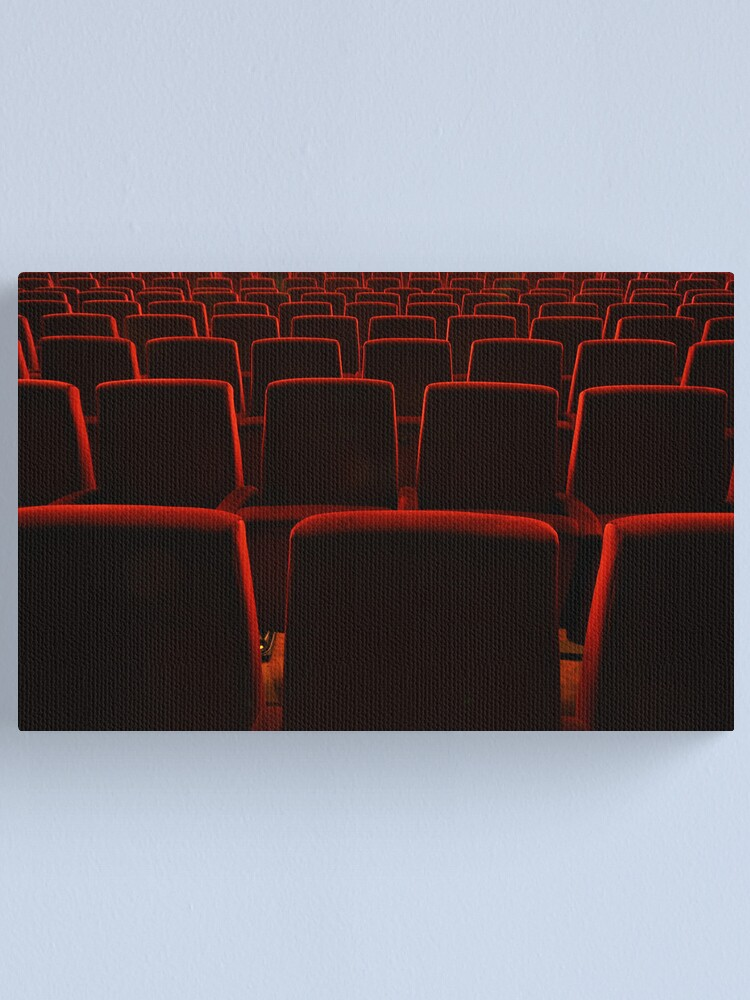 Alternate view of Waiting for an audience Canvas Print