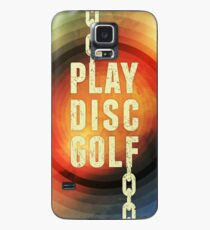 Funda/vinilo para Samsung Galaxy Jugar Disc Golf