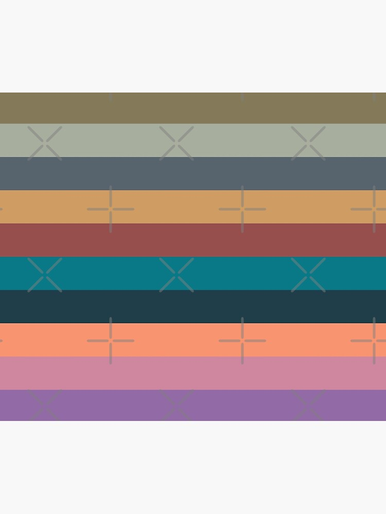 color stripes in colorful pastel by pASob-dESIGN