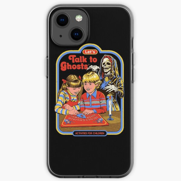 Let's Talk to Ghosts iPhone Soft Case