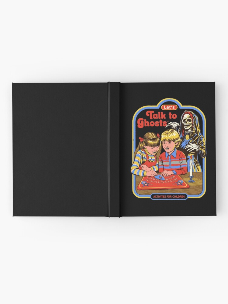 Alternate view of Let's Talk to Ghosts Hardcover Journal