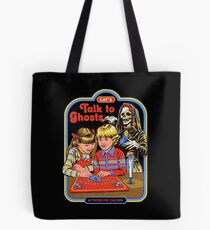 Let's Talk to Ghosts Tote Bag