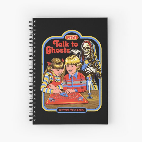 Let's Talk to Ghosts Spiral Notebook