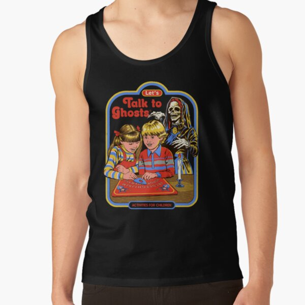 Let's Talk to Ghosts Tank Top