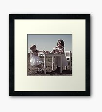 Children... Framed Print