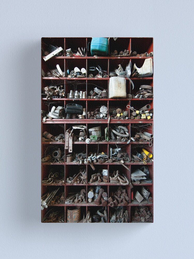 Alternate view of Jim's Nuts and Bolts Canvas Print