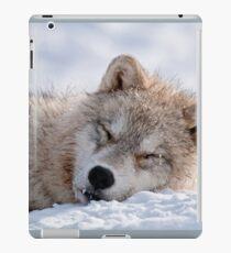 I lay my head down to sleep iPad Case/Skin