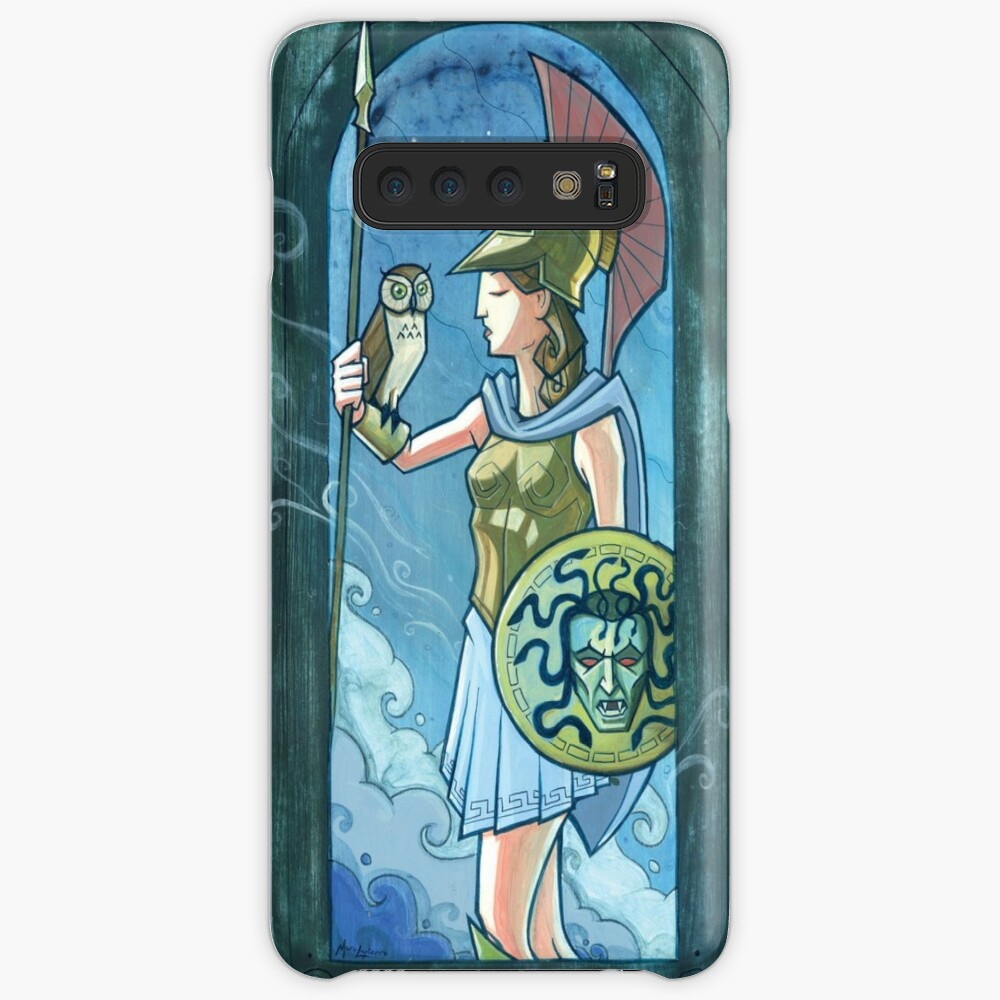 Athena painting Case & Skin for Samsung Galaxy
