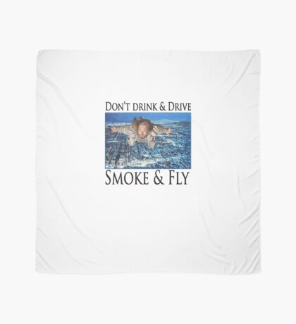 Smoke and Fly Scarf