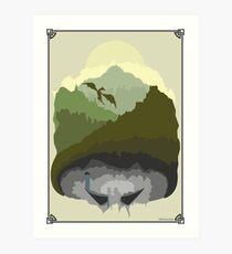 Tamriel Art Print