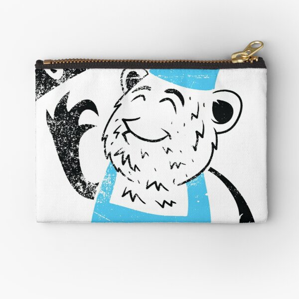 Enraged Howling Wolf Funny Coin Purse Wallet Wristlet Pouch Coin Wallet Zipper Change Holder