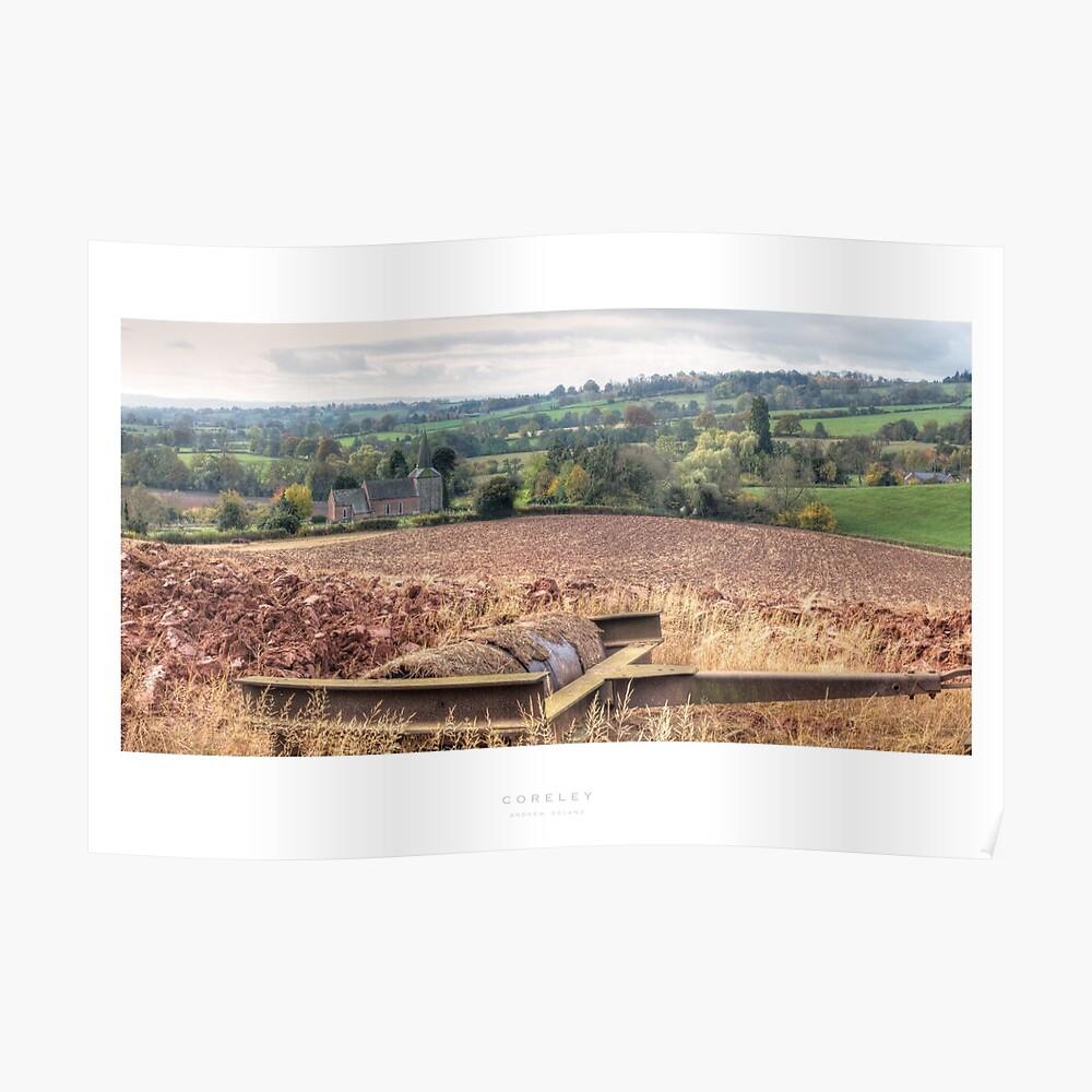 Coreley, Shropshire Poster