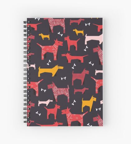 Dogs Funny Spiral Notebook