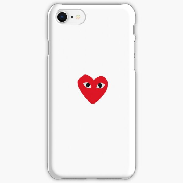 CDG Red iPhone Snap Case