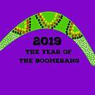 Year of the Boomerang--2019 by GreatAwokening