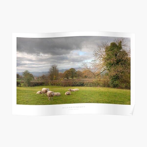 Hilluppencott, Shropshire Poster