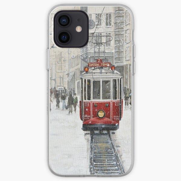 the Taksim tram iPhone Soft Case