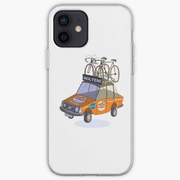 Molteni Cycling Team Car Coque souple iPhone