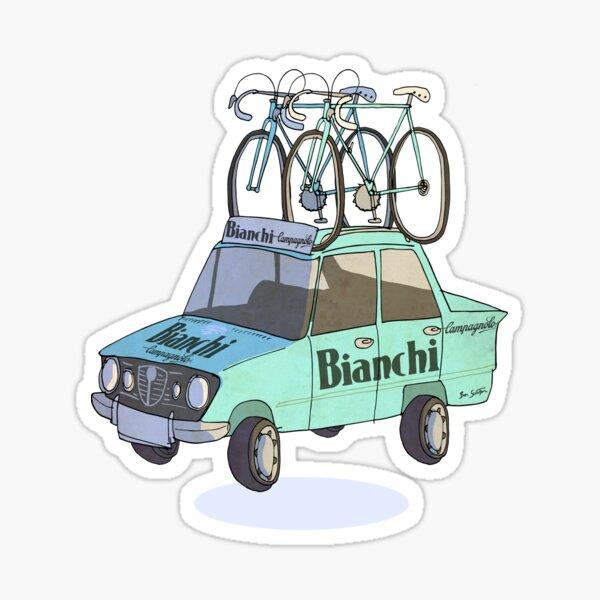 Voiture de cyclisme Bianchi Sticker