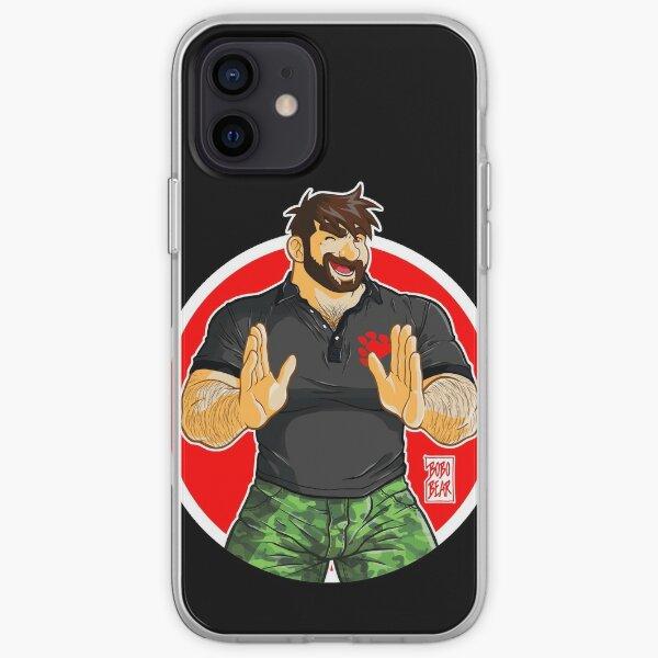 ADAM - BIG BOY (BLACK POLO) iPhone Soft Case