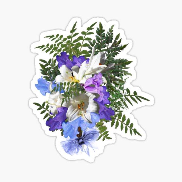 Jacaranda Blooms  Sticker