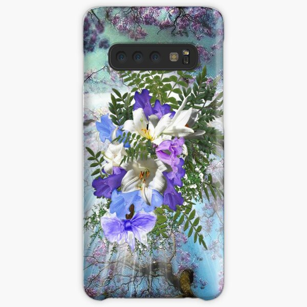 Jacaranda Blooms  Samsung Galaxy Snap Case