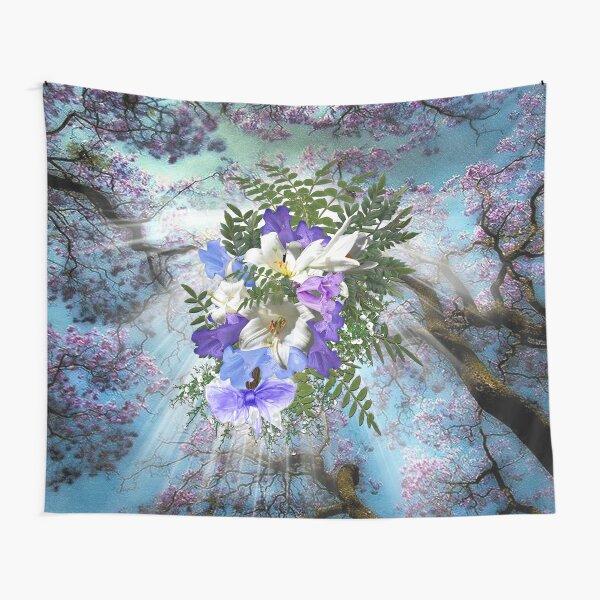 Jacaranda Blooms  Tapestry