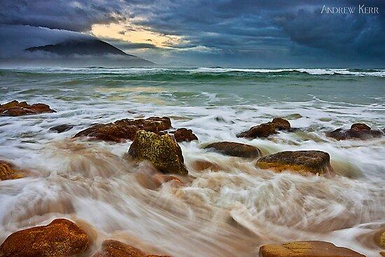 Morning Surf - Diamond Head by Andrew Kerr