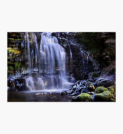 Scaleber Force in winter - The Yorkshire Dales Photographic Print