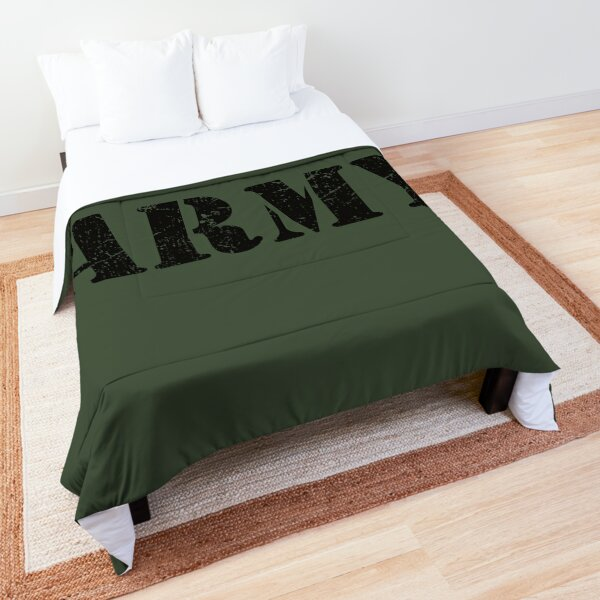 Vintage US Army Classic Military Logo Comforter