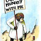 It's the monkey in me by Nicholas  Beckett