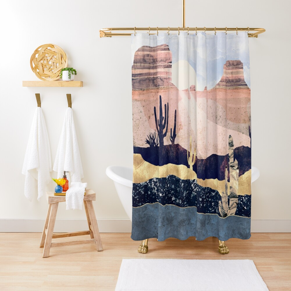 Autumn Desert Shower Curtain