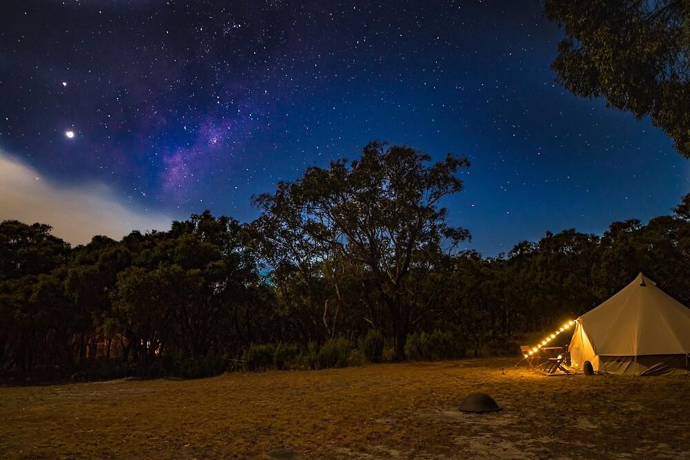 Milkyway above us by Aiin Ojani