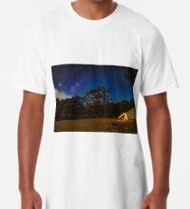 Milkyway above us Long T-Shirt