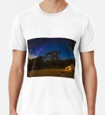 Milkyway above us Premium T-Shirt