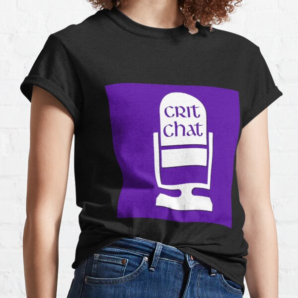 Crit Chat Logo (simple) Classic T-Shirt