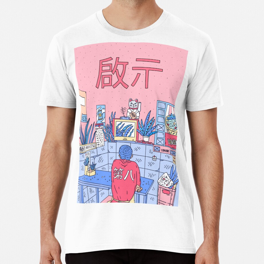 NEON ASIA PINK EDITION Premium T-Shirt