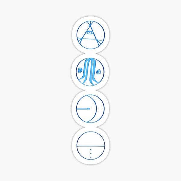 5 seconds of summer symbols Sticker