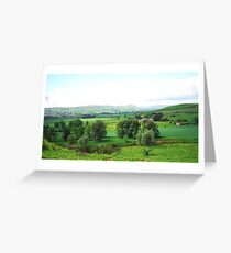Northumberland landscape Greeting Card