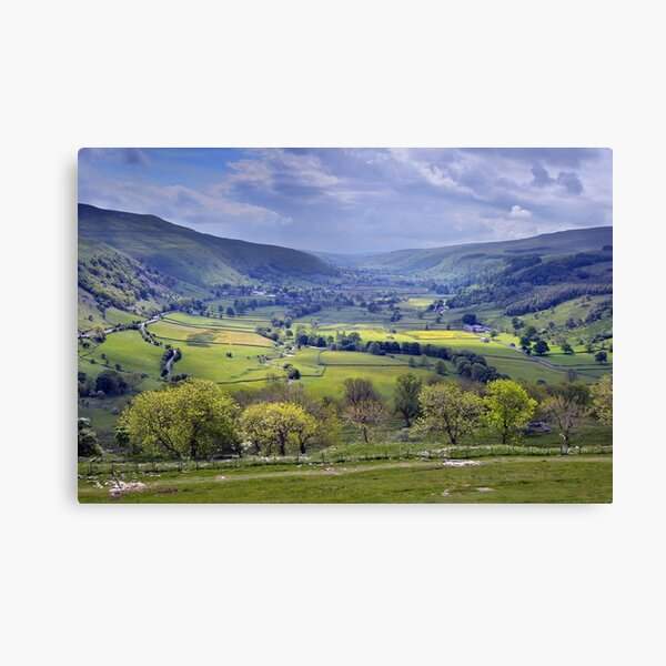 Wharfedale - The Yorkshire Dales Canvas Print