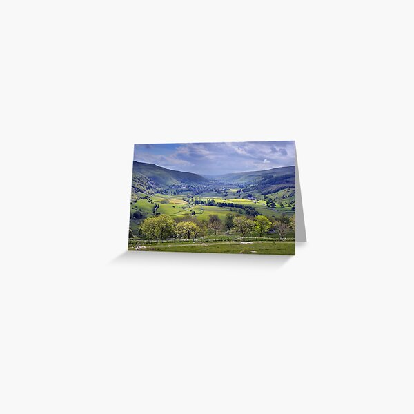 Wharfedale - The Yorkshire Dales Greeting Card