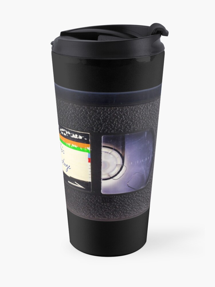 Alternate view of Mr Biffo's VHS Tape Travel Mug