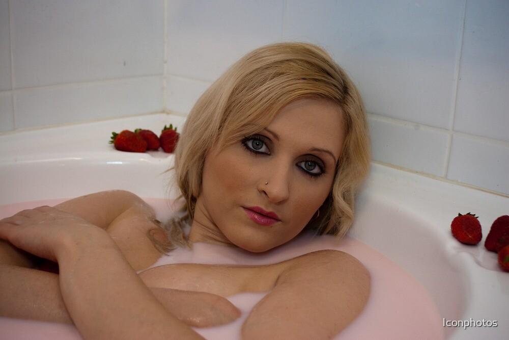 Pink Milk Bath by Iconphotos
