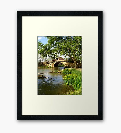 Ventenac Bridge Framed Print
