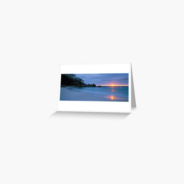 Sunrise - Little Waterloo Bay Greeting Card