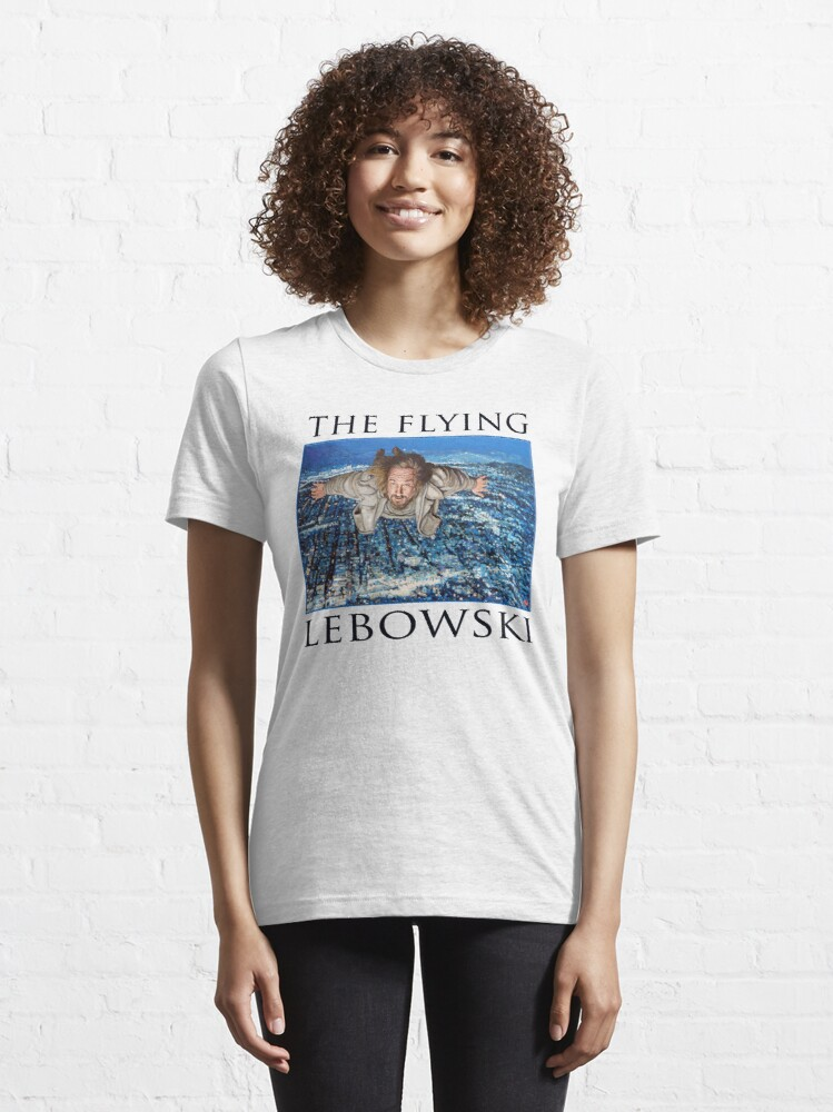 Alternate view of The Flying Lebowski Essential T-Shirt