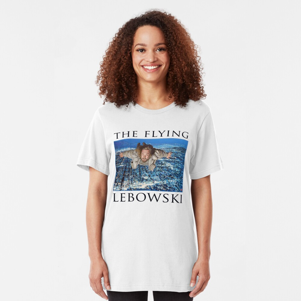 The Flying Lebowski Slim Fit T-Shirt