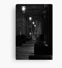 a night time stroll Canvas Print