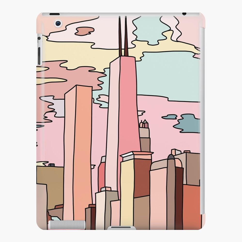 Chicago sunset by Sasa Elebea iPad Case & Skin